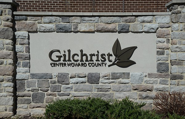 Gilchrist Center Howard County sign